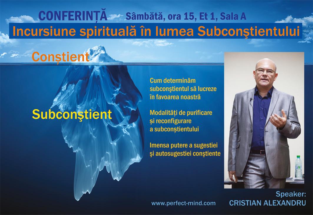 Conferinta Subconstient