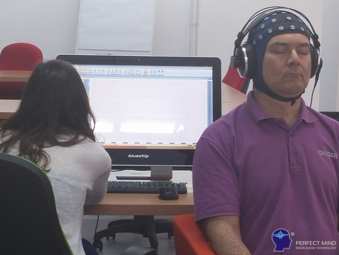 cercetare cu EEG la Perfect Mind