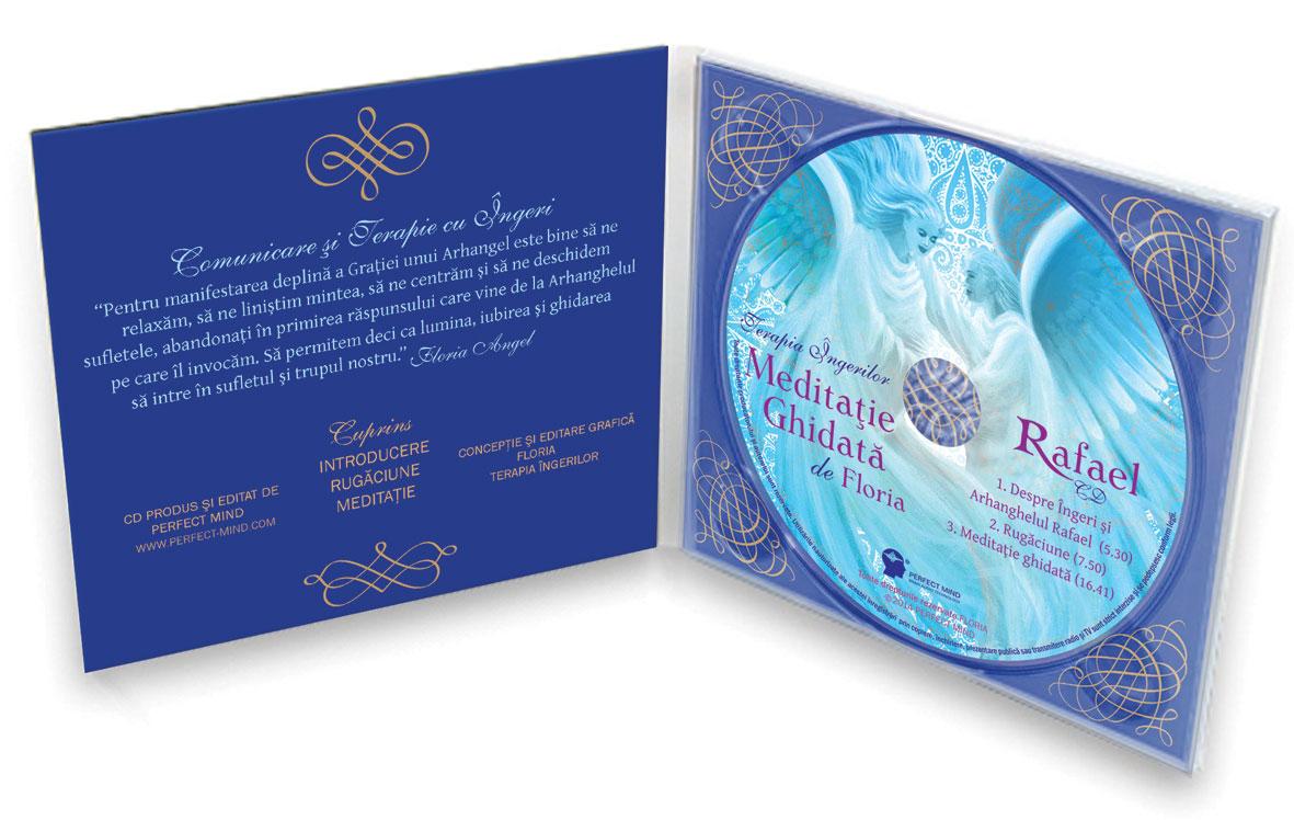 CD Arhanghel Rafael Terapia Ingerilor