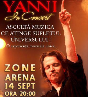 Yanni la Bucuresti