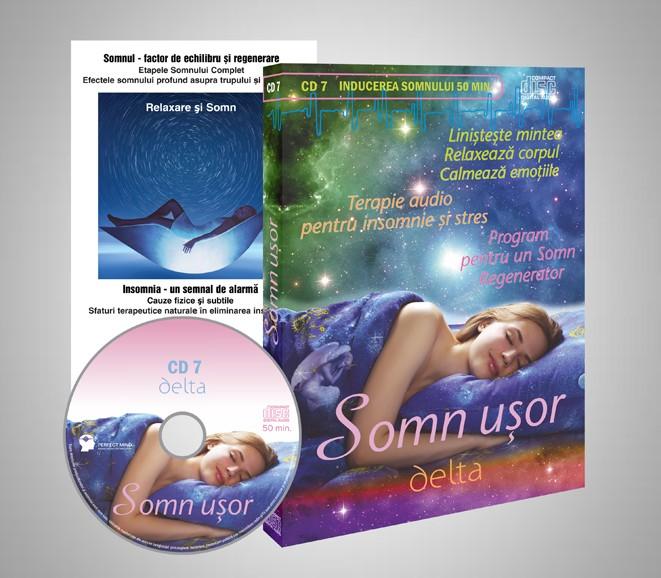 CD 7 Somn Usor - tratarea insomniei