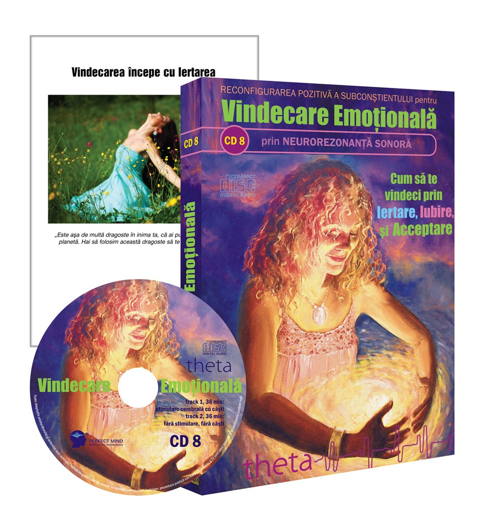 CD 8 Vindecare Emotionala
